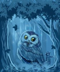 Night Owl by FannyNW
