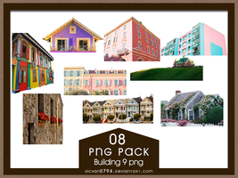 PNG PACK08 Building 9 png by xichan0794 by xichan0794