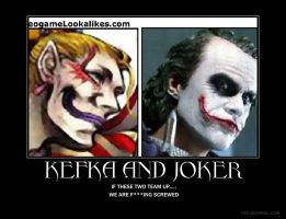Kefka and the Joker by ignore56