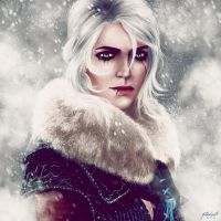 Ciri | The Witcher 3 by pinkastr