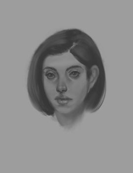 Procreate Value Study  - Now with timelapse video! by Cloud-Yo