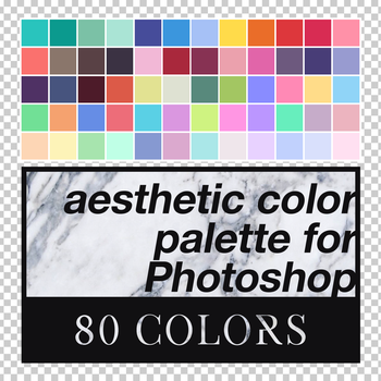 Aesthetic Color Palette for Photoshop by louann1812