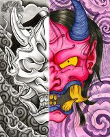 Hannya collab by dfmurcia