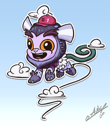 Mascot Marmoset by AssasinMonkey