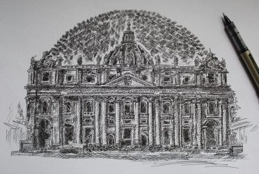 St. Peter's Basilica by ioanabart