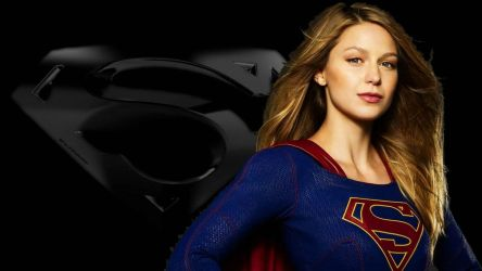 Supergirl and Icon Wallpaper 3 by Curtdawg53