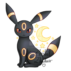 Umbreon by Cristal-Zhaduir