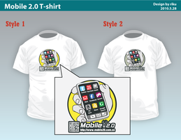 Mobile 2.0 Tee by rikulu