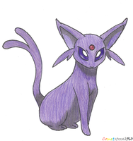 Espeon by ComIsybell