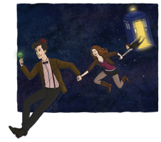Doctor Who by Svenly