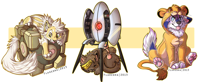 Some more chibs by Citriel
