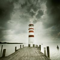 Lighthouse II by ambrits