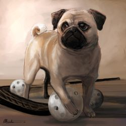 Pugtastic by frostcrystal