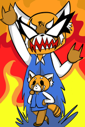 Retsuko and her stand by Booxinton