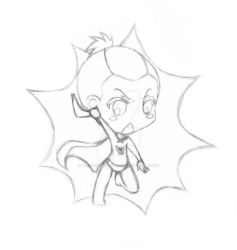 Sokka Boomerang Man Chibi Sketch. by TwinkletoesReloaded