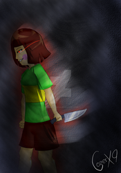 Chara - Undertale by ALoquenderoYT