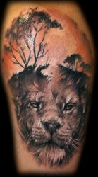 African theme by Tibor Galiger @ Dublin Ink by DublinInk