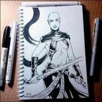 Sketchbook - Asajj Ventress (NSFW on Patreon) by Candra