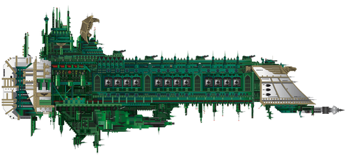 Retribution Battleship by The-First-Magelord