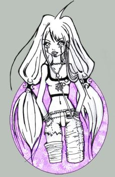 Ume,sin Terminar, for Alquimia by Sayia