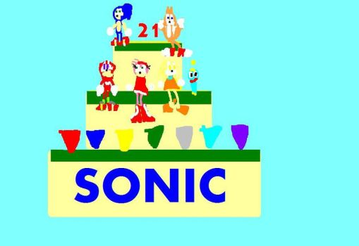 21 years of Sonic by DevinWarriors