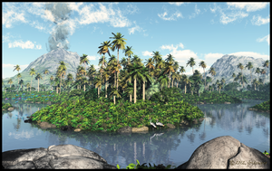 Tropical Forest by jbjdesigns