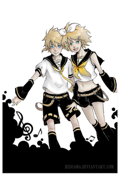 The Kagamines by redsama