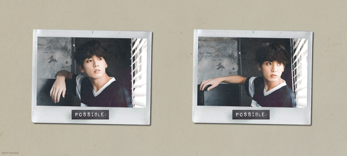 [EDIT] 180316 // Jungkook + Polaroids by Aryandil