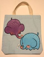 Elefunt Tote by lindsaycampbell