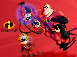 The Incredibles - Show Time by MichaelMayne