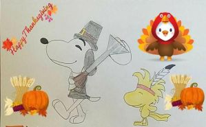 Peanuts Thanksgiving Day by mkl91