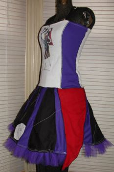 nightmare before xmas dress by smarmy-clothes