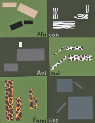African Animal Families by Leonca