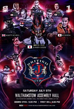 Revpro's British J cup official poster by THE-MFSTER-DESIGNS