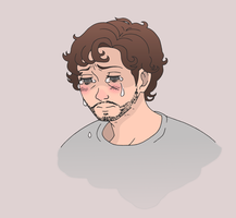 Doodle of Crying Will by Teddybear-93