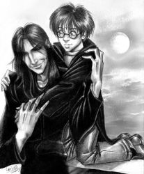 Sirius and Harry by kheelan