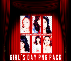 Girl's Day PNG Pack by kaixsoo