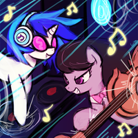 (S5e9) musical duo by luminaura