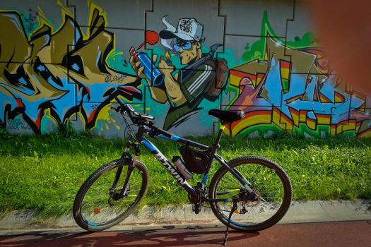 Lublin City on the bicycle by mysterious-one