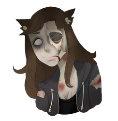 If I were a zombie by KyiwtieArt