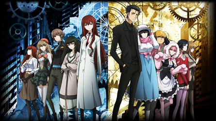 Steins Gate 0 Anime 2018 Official Wallpaper by WindyEchoes