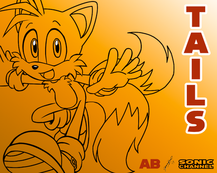 Jen's Tails my Sonic Channel wallpaper 1 by Aline-MPaS-love