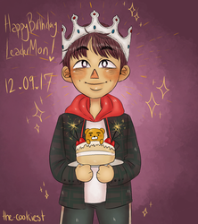 happy namjoon day!!! by the-cookiest