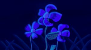 Blue Flowers from The Blue Universe by MarkRoosien
