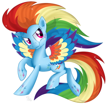 More Rainbow than ever by SwanLullaby