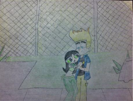 Johnny Test x Buttercup - Teenage Years by TheLivingBluejay