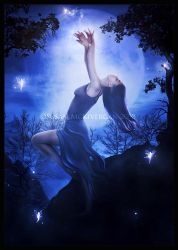 By the Light of the Moon by cosmosue