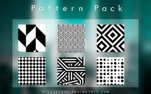 Pattern Pack | 6 P A T T E R N by elyssafawn