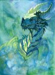 Forest Dragon by hibbary