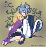 [CE] Rima and Enzo by IsaCrisis